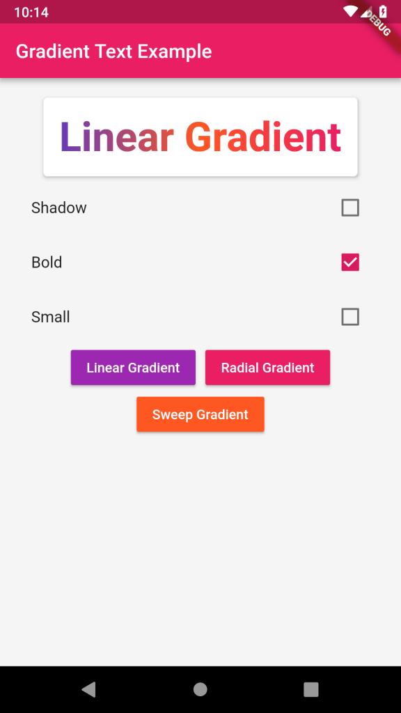 GradientTextScreenshot